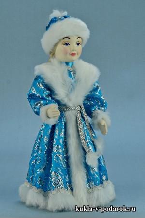 фото Снегурочка девочка кукла в подарок