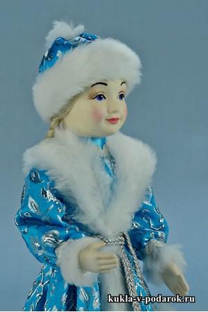 фото Снегурочка девочка фарфоровая голова расписана вручную