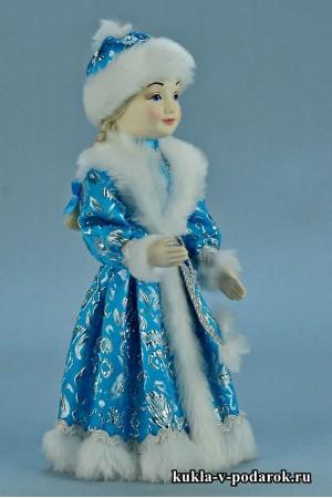 фото Снегурочка девочка в бирюзовом наряде