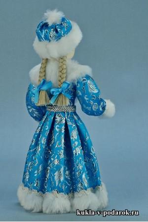 фото Снегурочка девочка с двумя косами