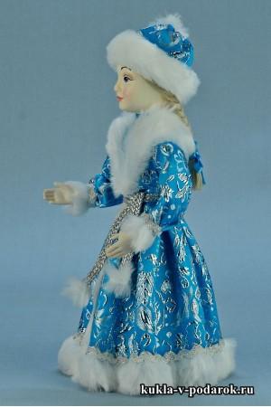 фото Снегурочка девочка красивый подарок на Новый год