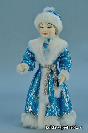 фото Снегурочка девочка кукла внучка Деда Мороза