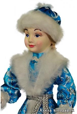 Снегурочка девочка кукла внучка Деда Мороза