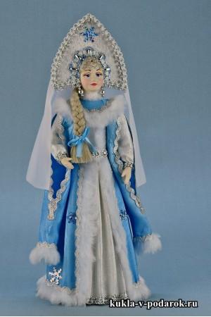 Фото кукла Снегурочка в подарок