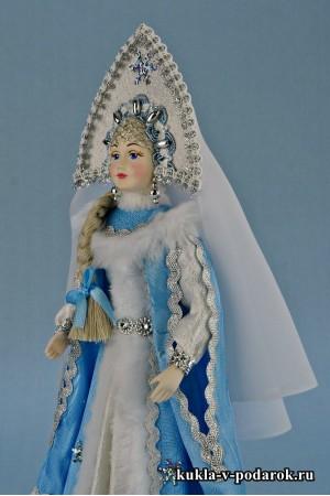 Фото кукла Снегурочка московский сувенир