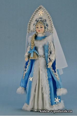 Фото красивая Снегурочка кукла в подарок