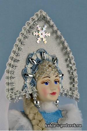 Фото кукла Снегурочка ручной работы
