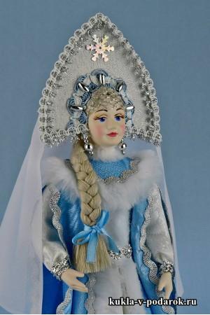 Фото кукла Снегурочка сказочной красоты