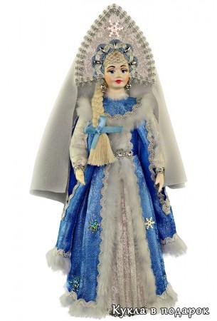 Кукла Снегурочка новогодний подарок