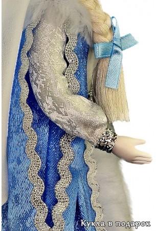 Разрезные рукава куклы Снегурочка