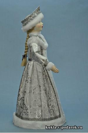 фото Снегурочка подарок авторская кукла