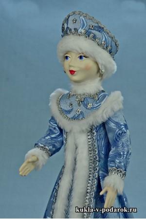 фото Снегурочка подарок хенд мейд кукла