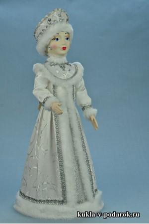 фото Снегурочка рукодельный подарок на новый год