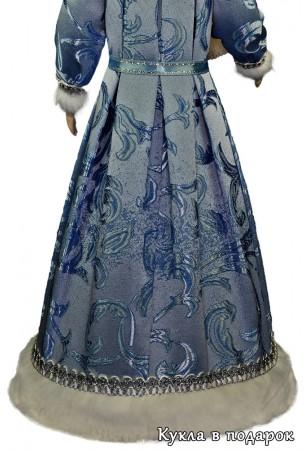 Снегурочка подарок кукла в голубом наряде