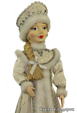 Снегурочка подарок кукла блондинка