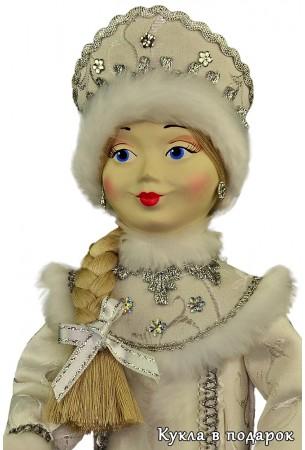 Снегурочка подарок ручная роспись фарфоровой головы