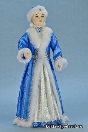 фото новогодняя Снегурочка кукла в подарок