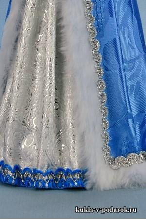 фото новогодняя Снегурочка детали наряда