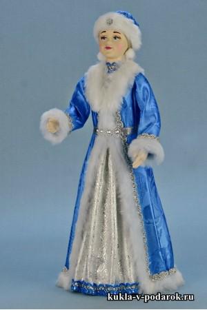 фото новогодняя Снегурочка красивая кукла