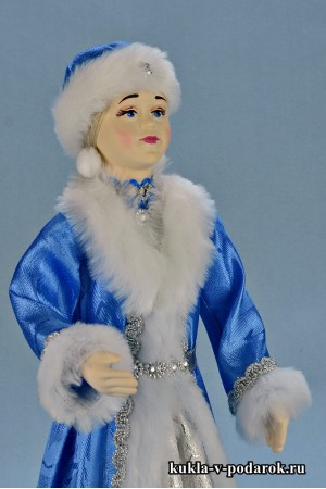 фото новогодняя Снегурочка авторская кукла
