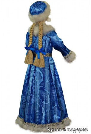 Снегурочка новогодняя кукла московский сувенир