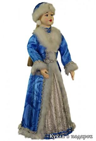 Снегурочка новогодняя кукла ручной работы