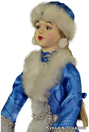 Снегурочка подарок на Новый год кукла ручной работы