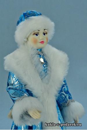 Фото Снегурочка игрушка кукла в русском стиле