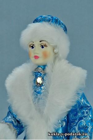 Фото Снегурочка игрушка ручная роспись лица