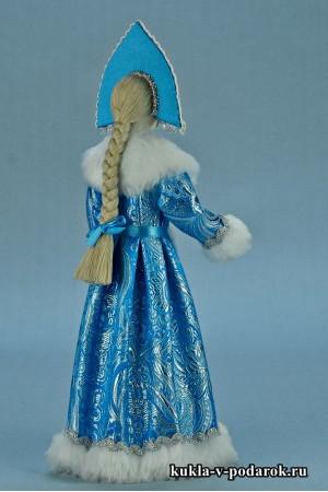 Фото Снегурочка игрушка кукла хенд мейд