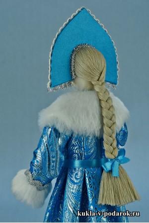 Фото Снегурочка кукла игрушка подарок на Новый год