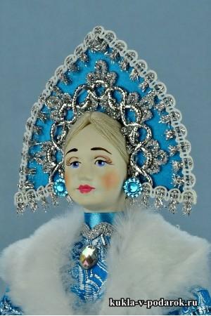 Фото кукла Снегурочка игрушка новогодний сувенир