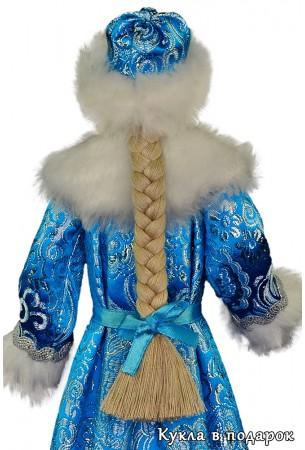Игрушка с косой кукла Снегурочка