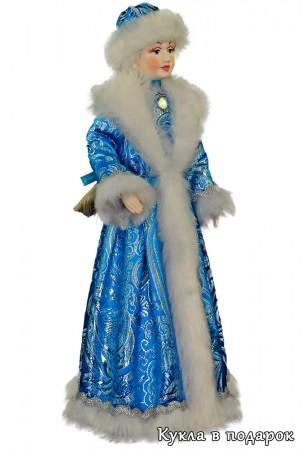 Снегурочка игрушка кукла с красивым лицом