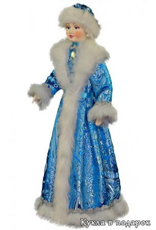 Недорогая игрушка кукла снегурочка