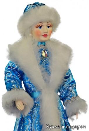 Снегурочка игрушка кукла в русском стиле