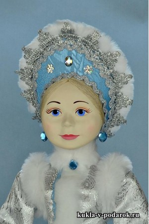 фото Снегурочка внучка кукла из фарфора