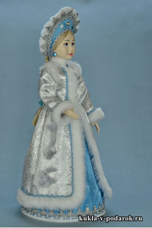фото Снегурочка внучка кукла ручной работы