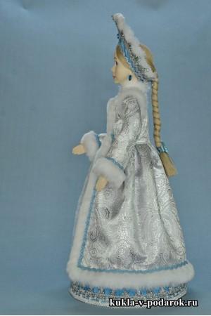 фото Снегурочка внучка готовая хенд мейд кукла