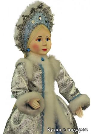 Авторская кукла Снегурочка внучка Деда Мороза