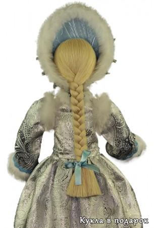 Снегурочка внучка рисунок ткани одежды