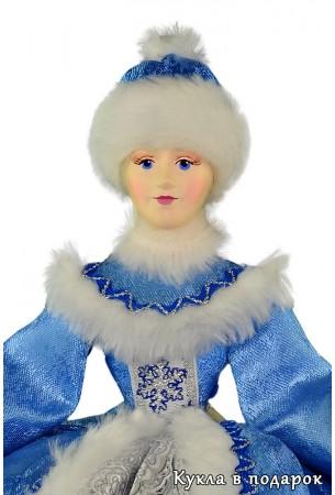 Кукла Снегурочка кукла для доброго хорошего чаепития