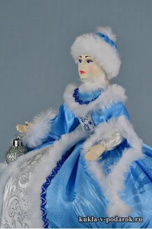 фото приятного чаепития кукла для чайника