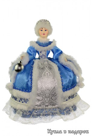 Приятная кукла грелка и чайник в кокошнике