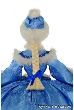 Красивая кукла грелка с русской косой