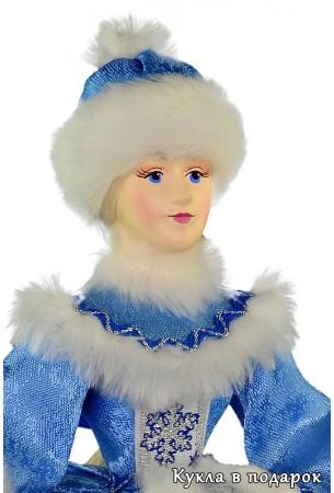 Кукла грелка для чаепития с приятным лицом