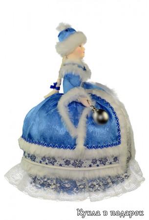Приятный подарок на Новый год кукла на чайник