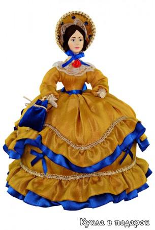 Кукла грелка на чайник в подарок для кухни