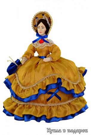 Подарок в русском стиле кукла дама на чайник