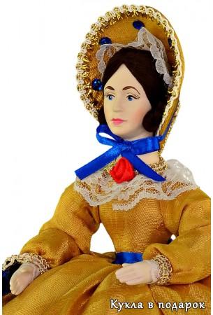 Недорогая московская кукла на чайник